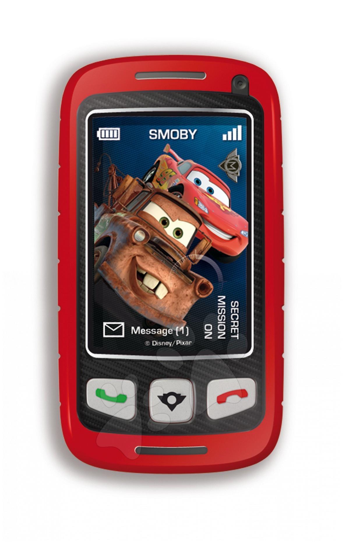 Staré položky - Cars Mobilní telefon Spy Phone Smoby elektrické