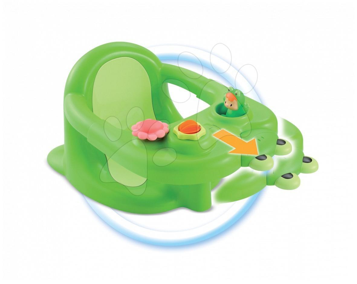 Cotoons sedátko žaba do vody Smoby zelená od 6 mes
