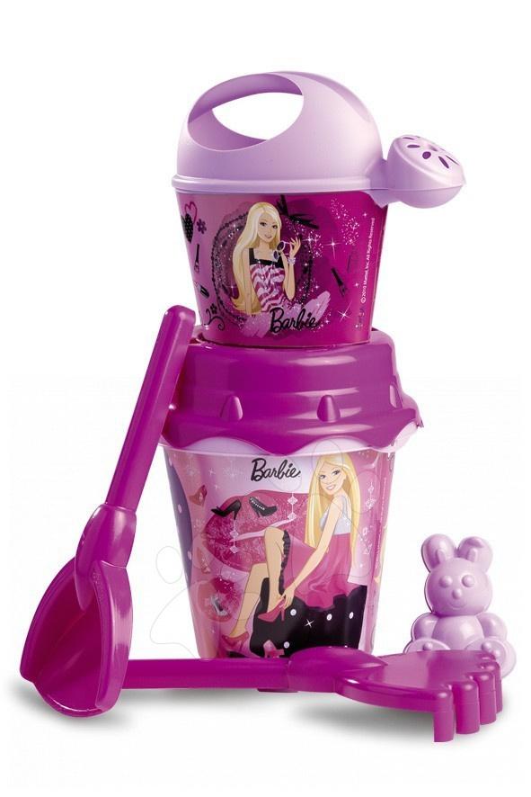 Staré položky - Set do písku kbelík s konví Barbie Divertoys 6 ks