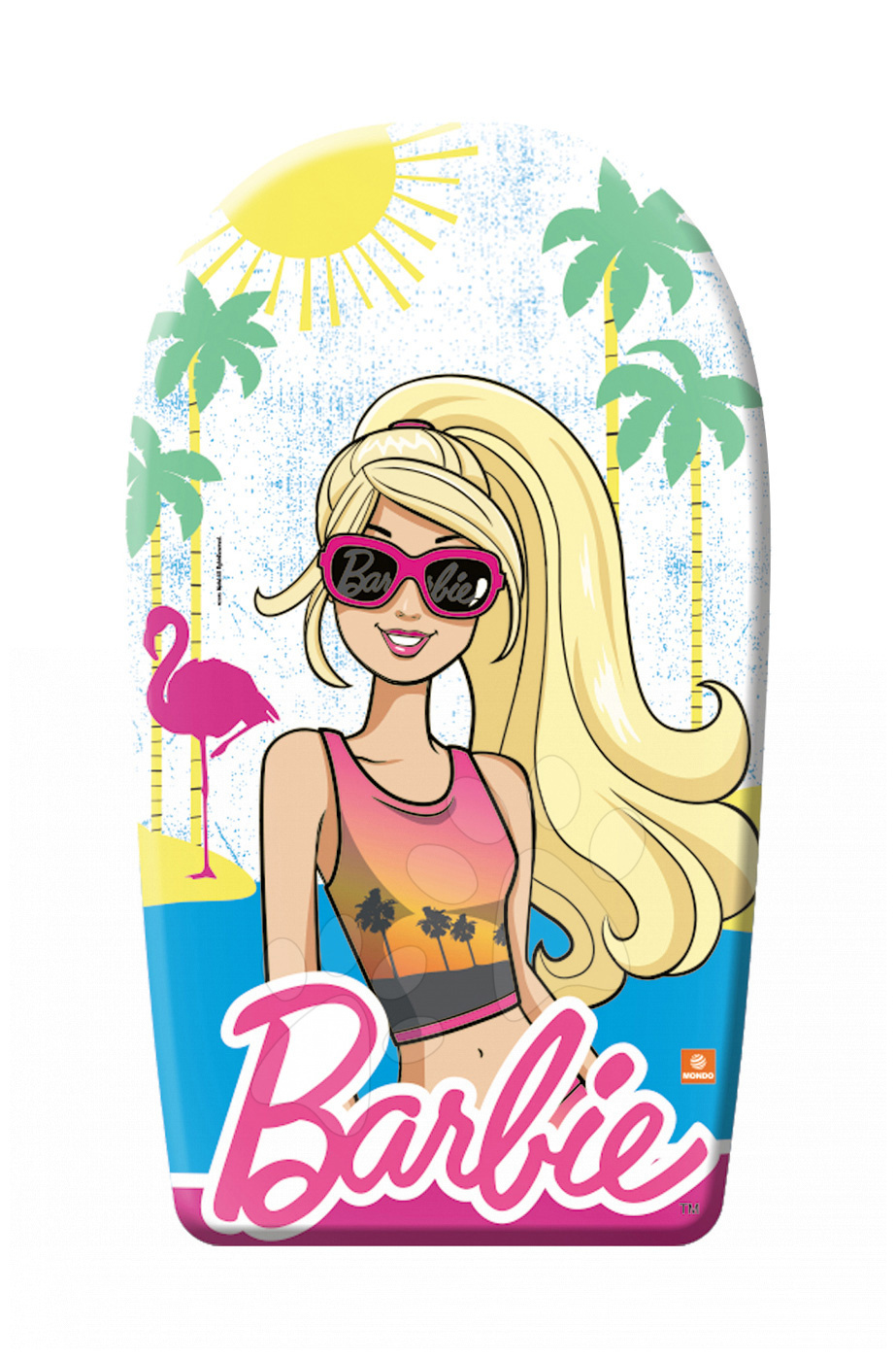 Deska iz pene za plavanje Barbie Mondo 84 cm