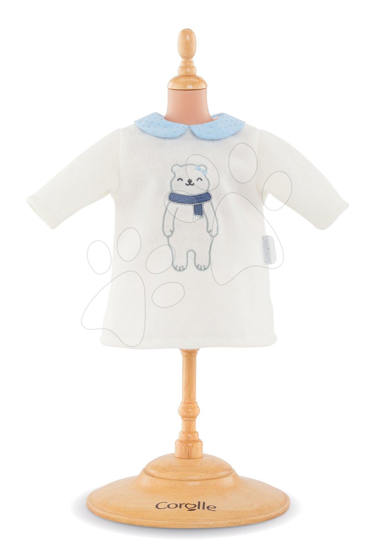 Oblečenie Dress Winter Sparkle Corolle pre 30 cm bábiku od 18 mes