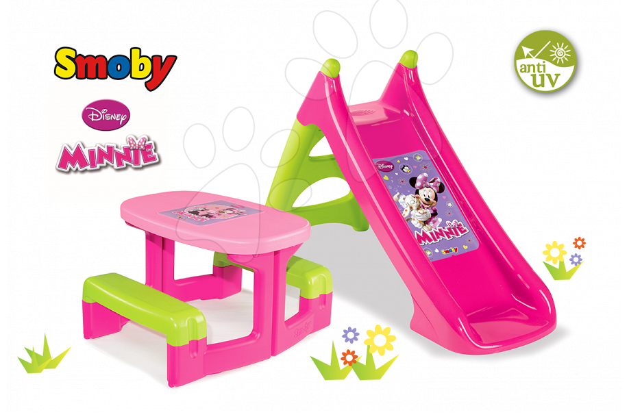 toboggan xs minnie smoby de smoby. Black Bedroom Furniture Sets. Home Design Ideas