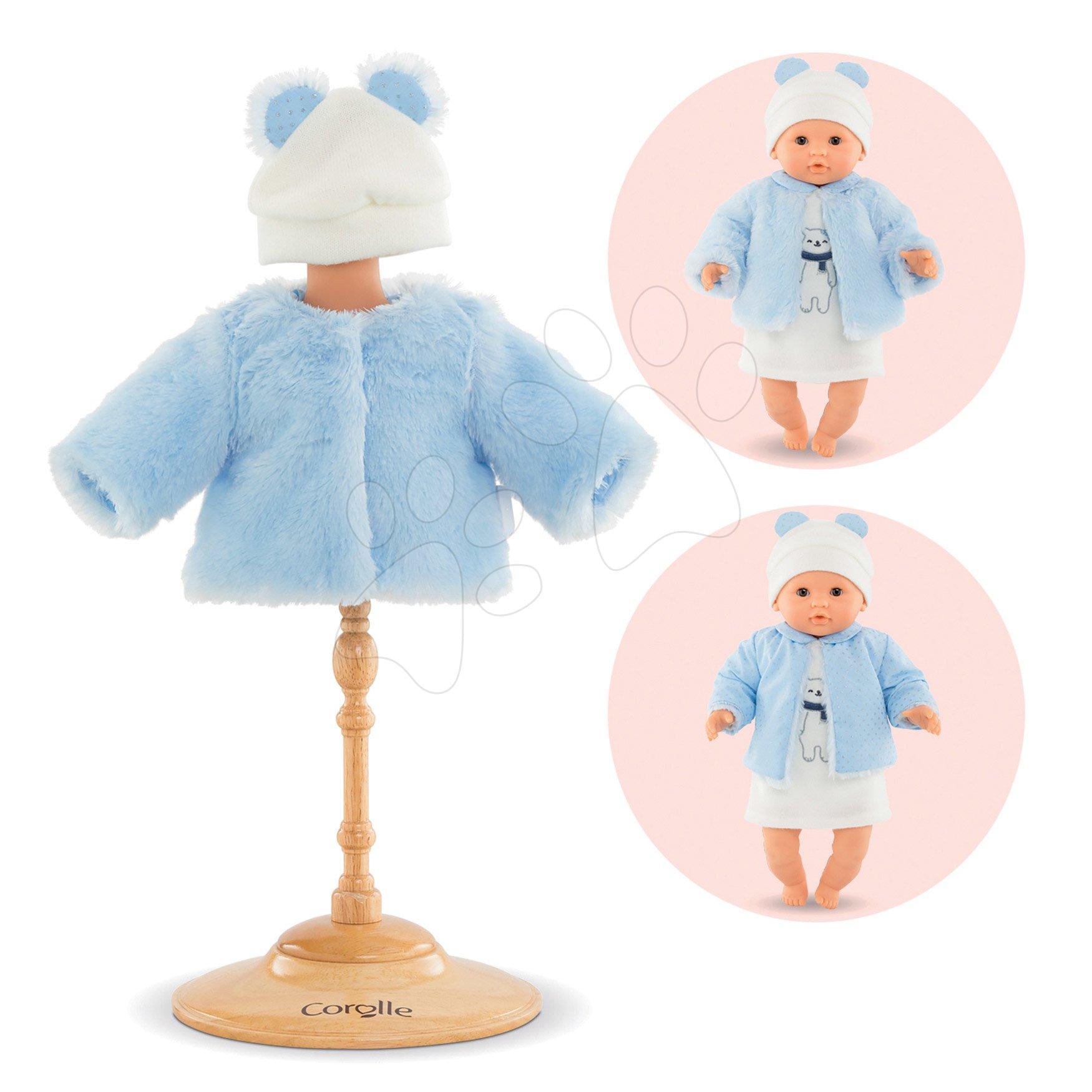 Oblečenie Coat Winter Sparkle Corolle pre 30 cm bábiku od 18 mes