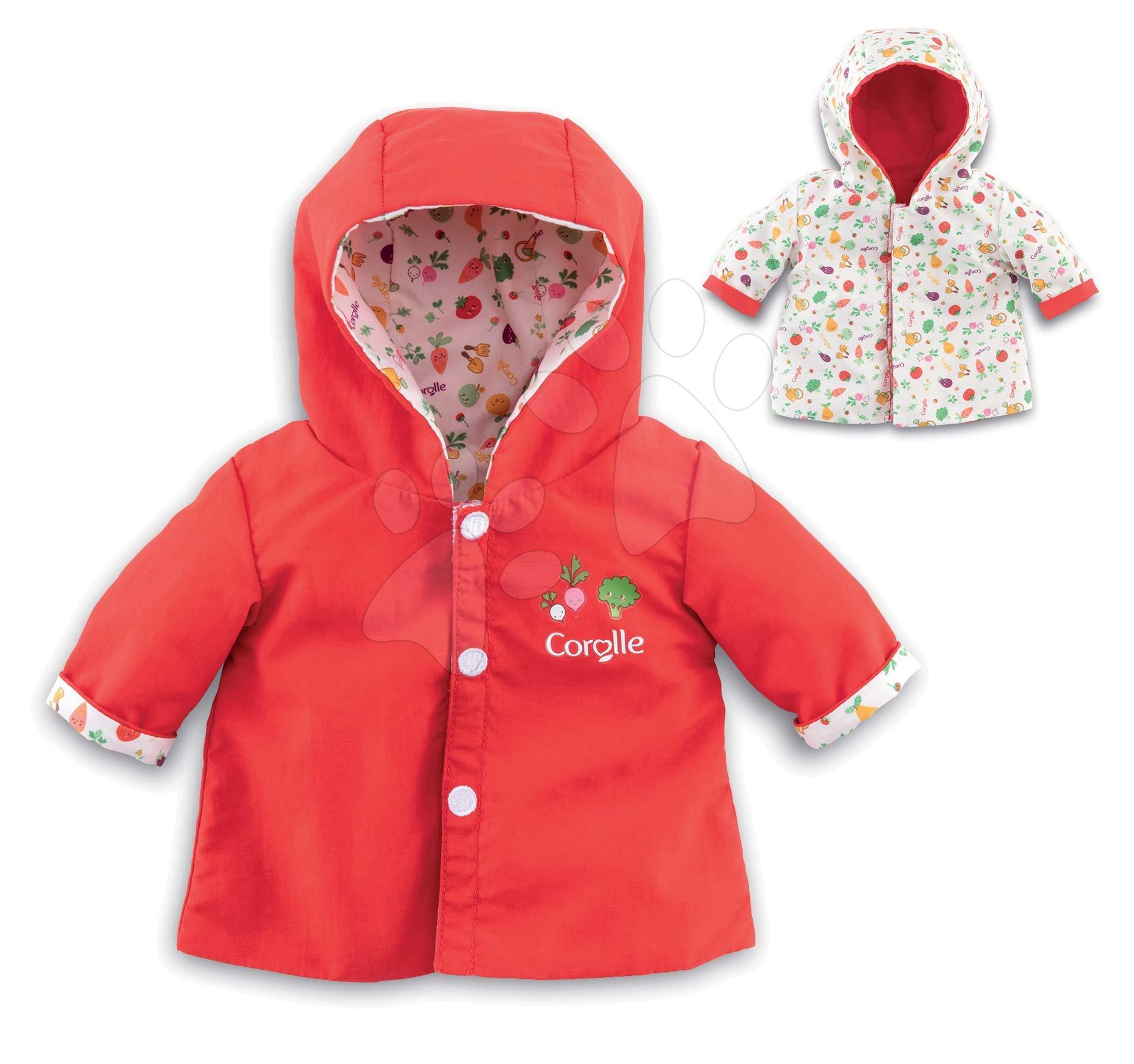 Oblečení pro panenky - Oblečení Rain Coat Garden Corolle pro 30 cm panenku od 18 měs