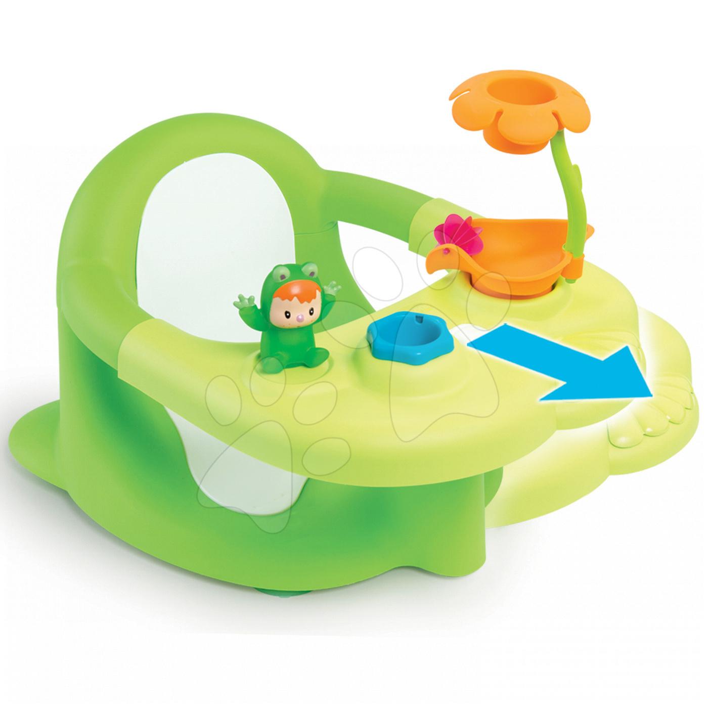 Sedátko do vody Cotoons Žaba Smoby zelené od 6 mes