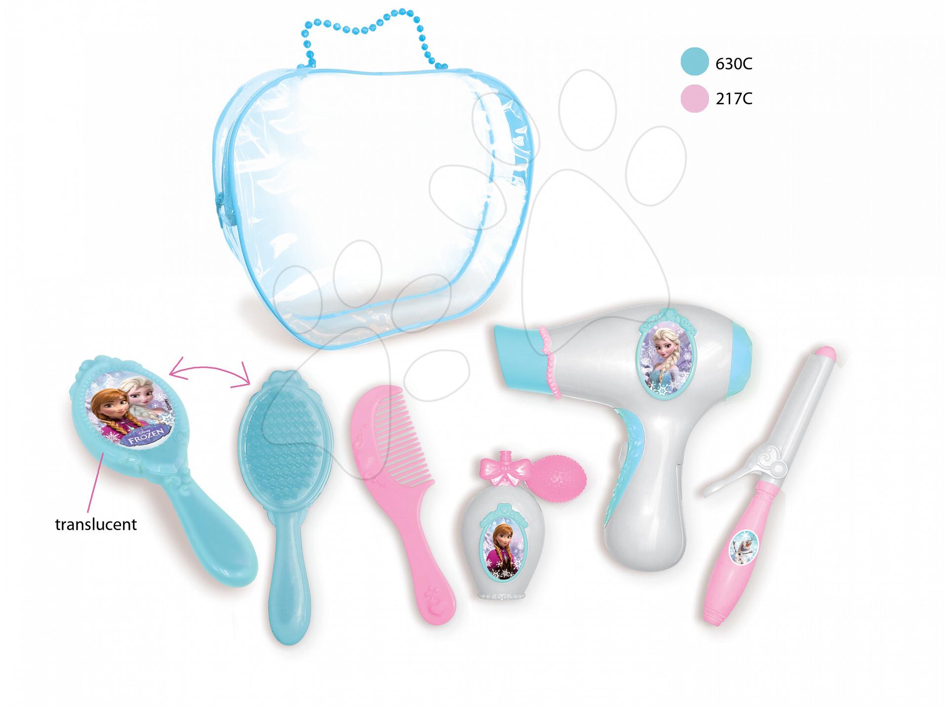 Kosmetická taška pro děti Frozen Smoby s potřebami na česání
