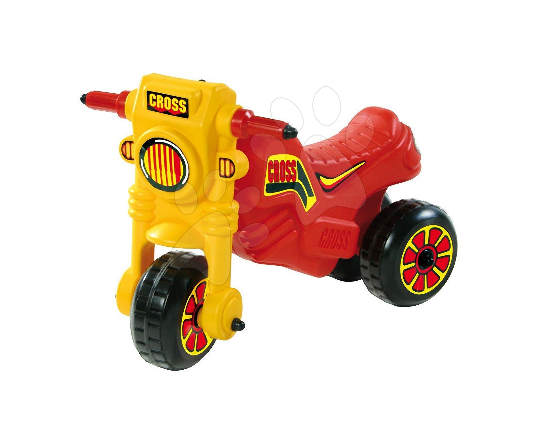 Motorky - Odrážedlo Cross Dohány červené