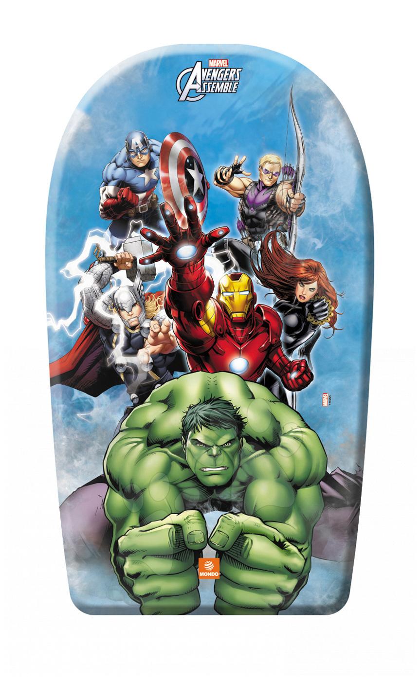 Pěnová deska na plavání Avengers Mondo 84 cm modrá/oranžová