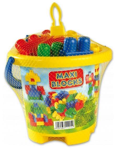 Cuburi de jucărie Maxi Blocks Dohány 24 de piese de la 18 luni