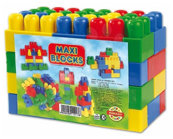 Stavebnice Dohány - Kostky Maxi Blocks Dohány 60 dílů od 18 měsíců