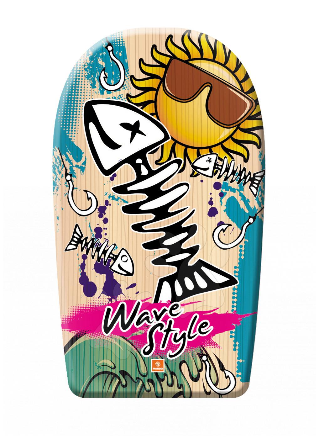 Pěnová deska na plavání Fantasy Wave Style Mondo 84 cm