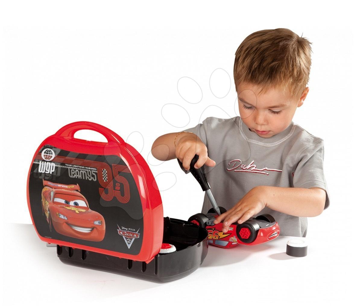 Cars & Planes kufřík s nářadím - CAR Smoby