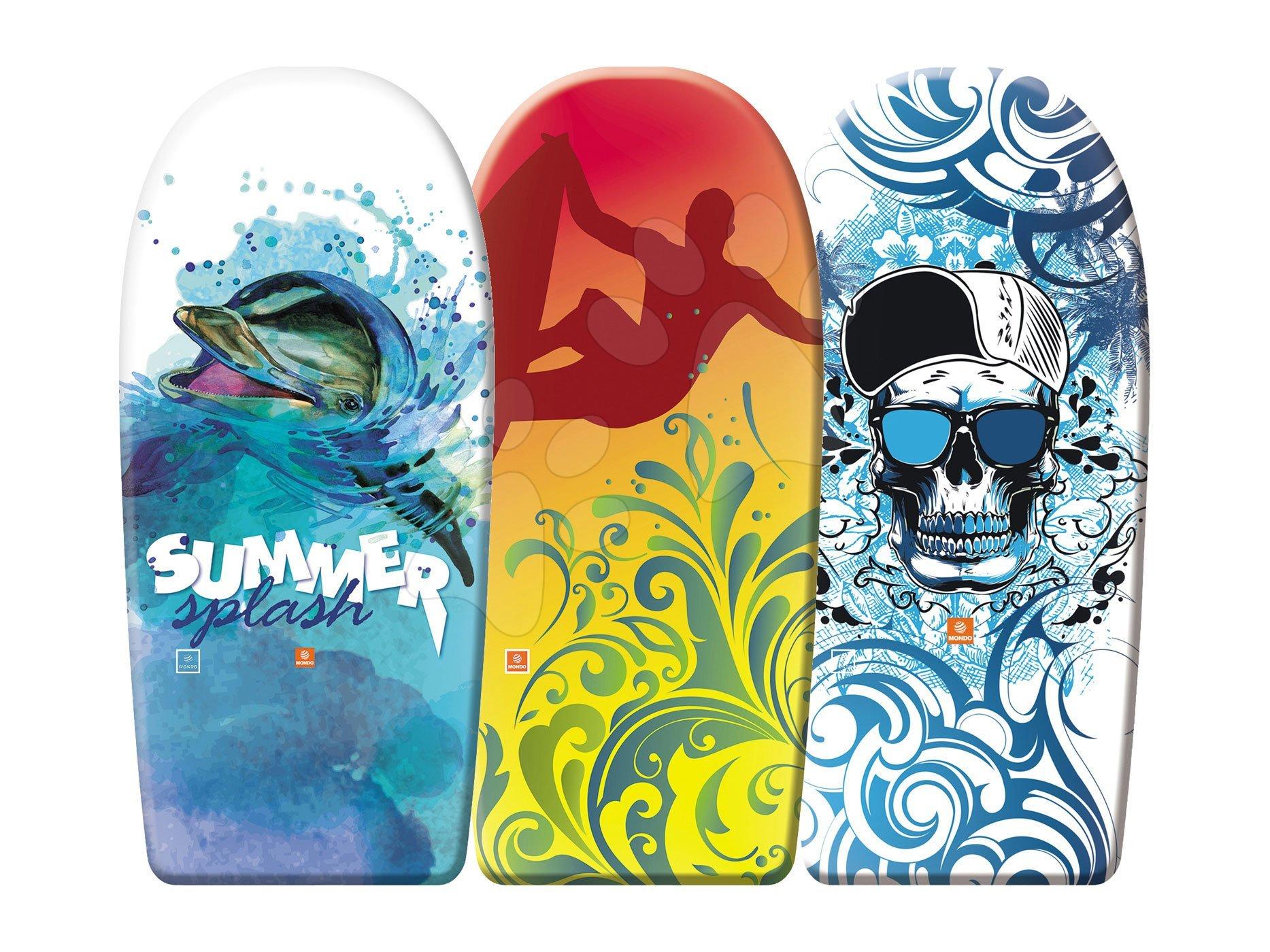 Pěnová deska na plavání Summer Mondo 94 cm, delfín/board/kšiltovka