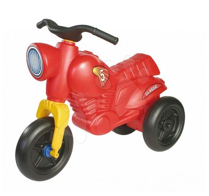 Motorky - Odrážedlo Classic 5 Motorbike Dohány červené