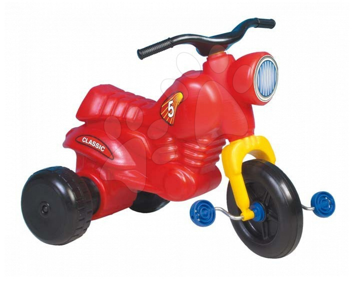 Motorete - Motocicletă cu pedale Classic 5 Dohány roșie