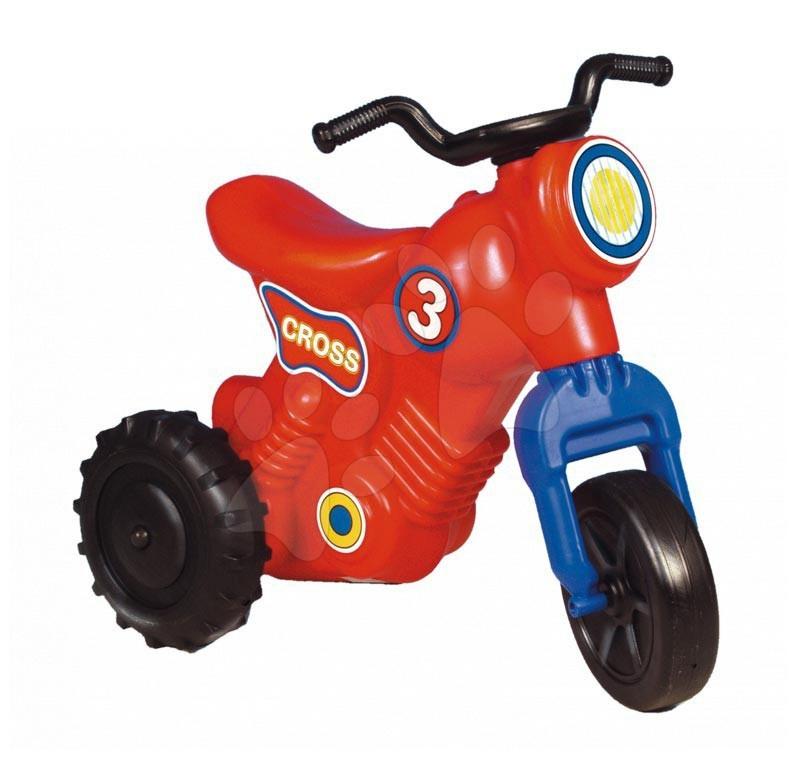 Motorky - Odrážedlo Cross 3 Motorbike Dohány červené