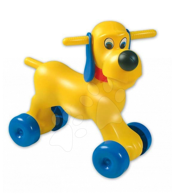 Motorky - Odrážedlo pes Pluto Dohány žluté od 18 měsíců