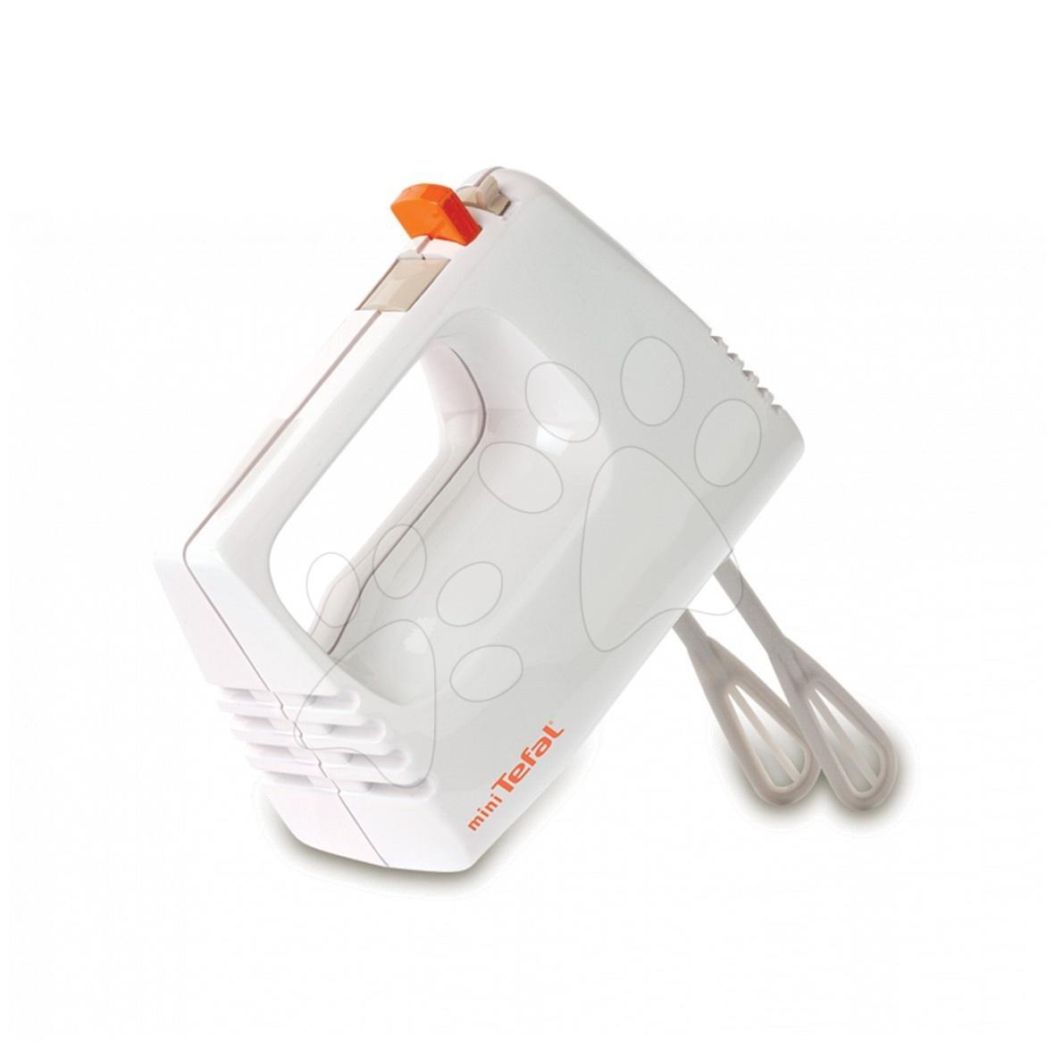 Mixer de mână Mini Tefal Smoby cu palete de mestecare alb