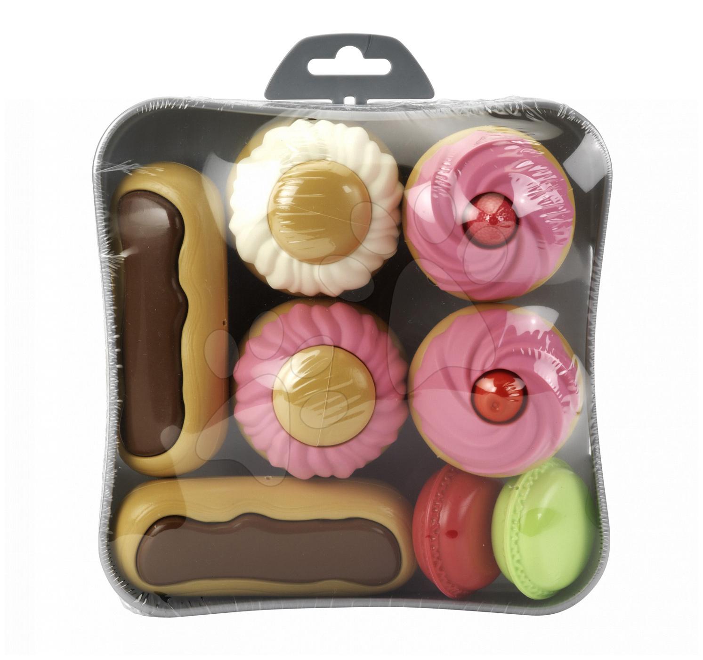 Zákusky a koláčky Écoiffier na podnose 8 kusů od 18 měsíců