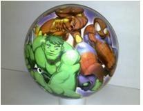 Pohádkové míče - Míč Marvel Squad Unice 23 cm