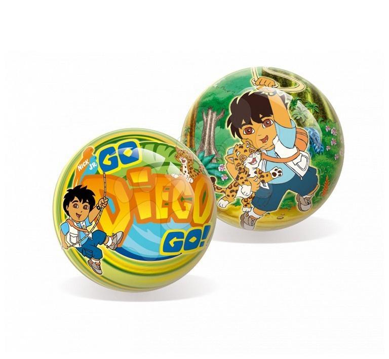 Rozprávkové lopty - Rozprávková lopta Go Diego Go Unice 23 cm