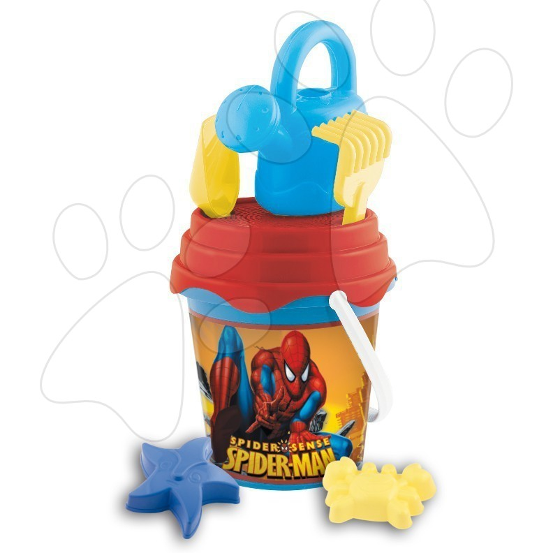 Kbelík set s konví Spiderman Mondo 7 dílů (výška 14 cm) od 18 měsíců