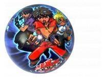 Pohádkové míče - Míč Bakugan Unice 23 cm
