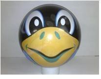 Pravljične žoge - Žoga Živalica Unice 23 cm