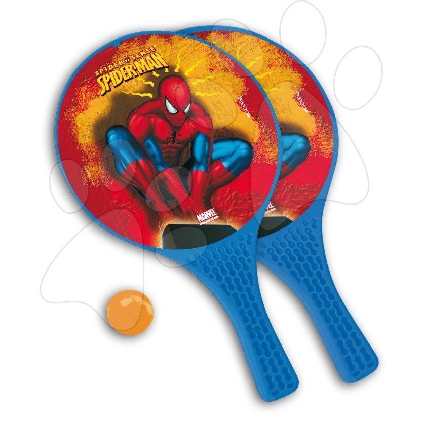 Tenis - Plážový tenis set Spiderman Mondo s 2 raketami a loptičkou