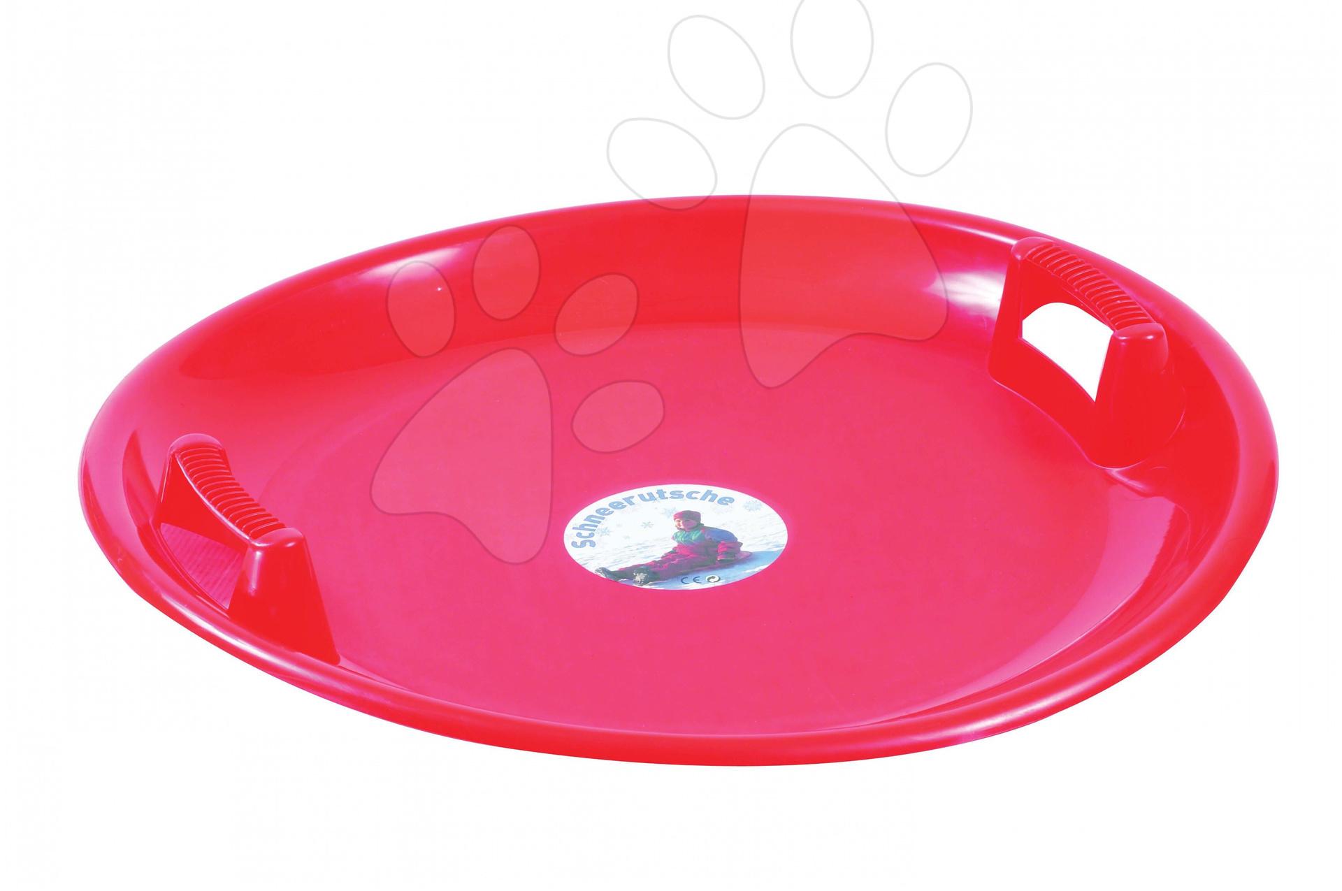 Boby - Klzák na sneh Starplast okrúhly červený
