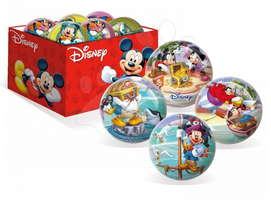 Rozprávkové lopty - Rozprávková lopta Mickey a priatelia Unice 15 cm