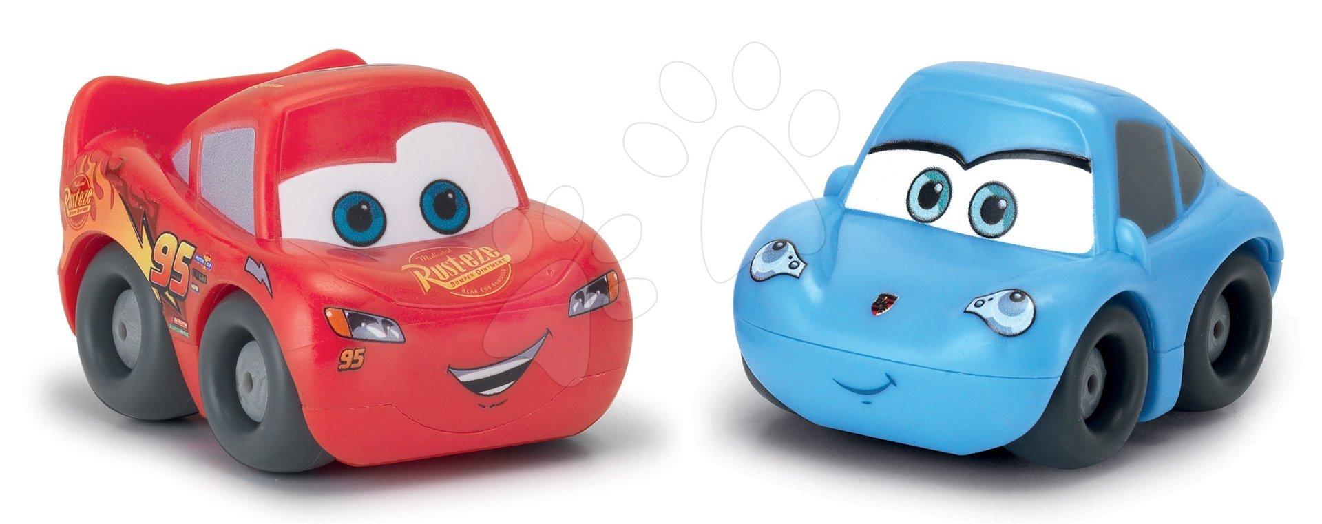 Kisautók 2 fajta Vroom Planet Cars Smoby ajándékcsomagolásban, piros és kék 12 hó-tól