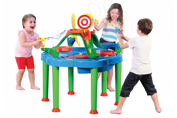 Detský záhradný nábytok - Stôl na hranie Multi Activity Starplast na vodu a piesok bez slnečníka