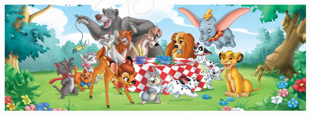 Puzzle Panorama Zvierací Disney Kamaráti Educa 100 dielov od 5 rokov