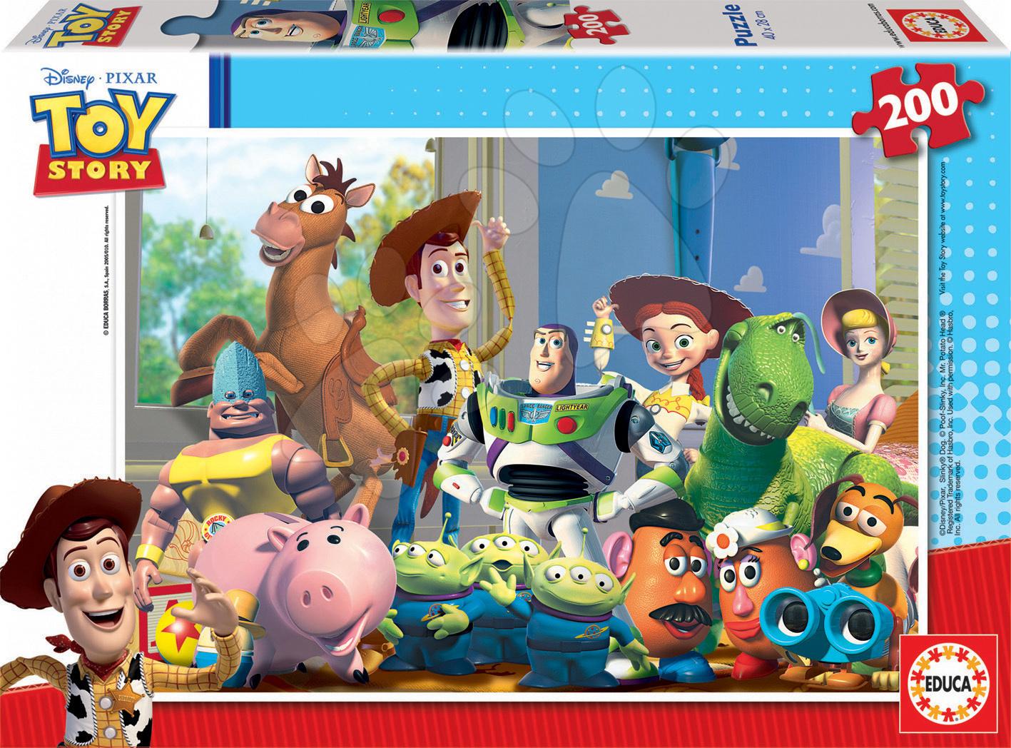 Puzzle Walt Disney Príbeh Hračiek Educa 200 dielov od 6 rokov