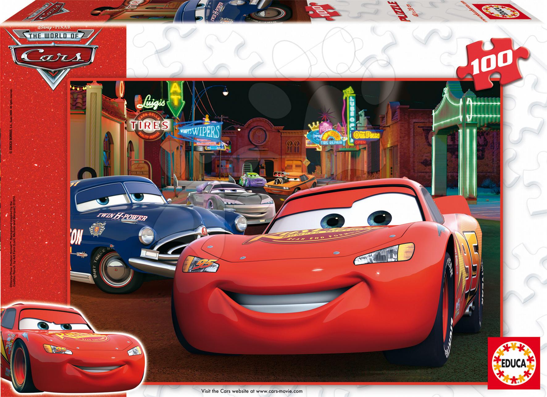 Gyerek puzzle 100-300 darabos - Puzzle Walt Disney Verdák Educa 100 db 5 évtől
