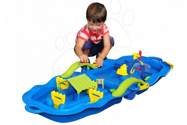Vodne dráhy pre deti - Vodná hra Starplast s vozíkom