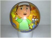 Pohádkový míč Handy Manny Unice 15 cm