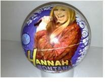 Míč Hannah Montana Unice 15 cm