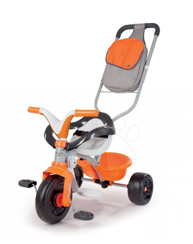 Staré položky - Tříkolka Be Move Confort SPORT Smoby oranžová s vodicí tyčí od 10 měsíců