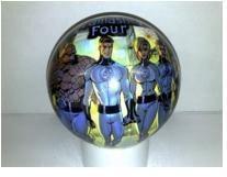 Pohádkové míče - Míč Fantastic Four Unice 15 cm