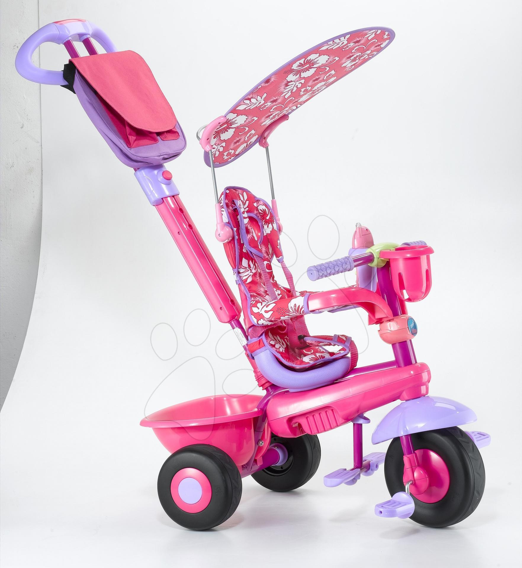Tricicletă Leonardo smarTrike roz