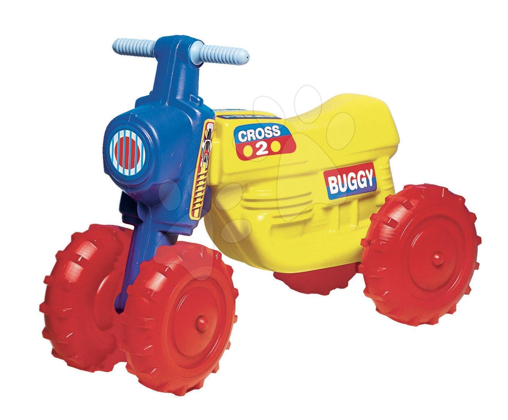 Motorky - Odrážedlo Cross 2 Dohány Mini Buggy žluté