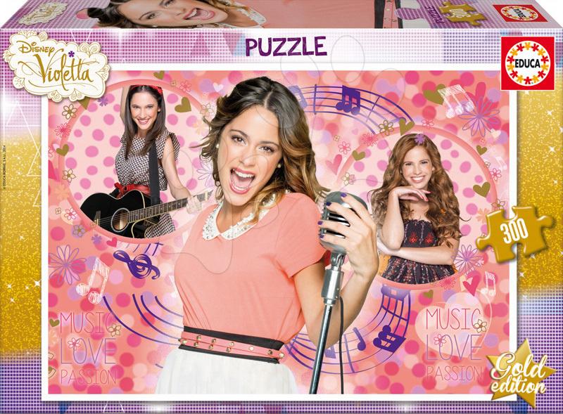 Detské puzzle Violetta Zlatá edícia Educa 16367