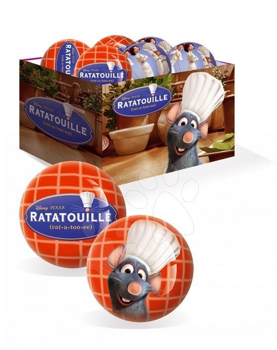 Rozprávková lopta Ratatouille Unice 15 cm