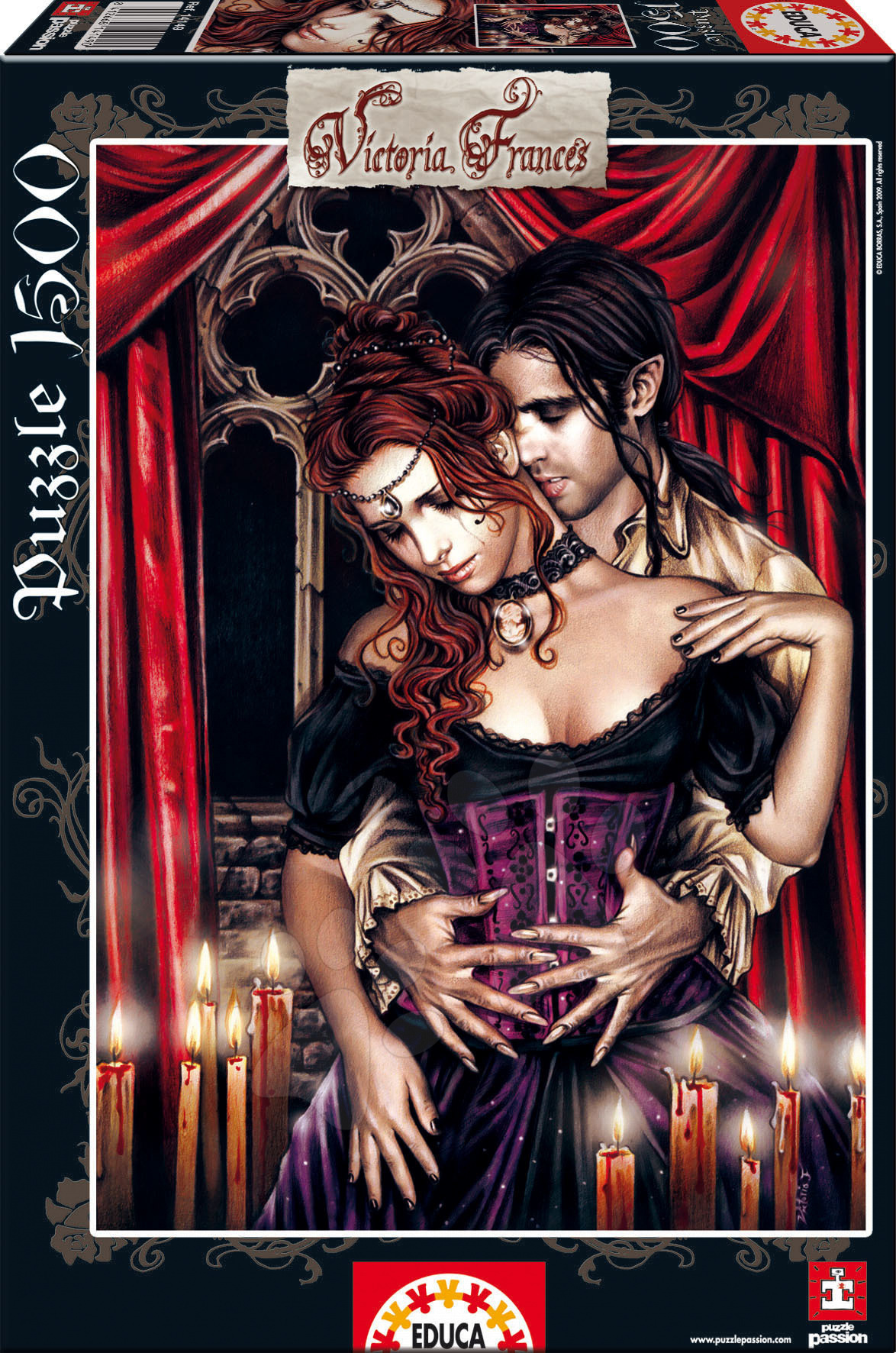 Produse vechi - Puzzle The Lovers Educa 1500 piese
