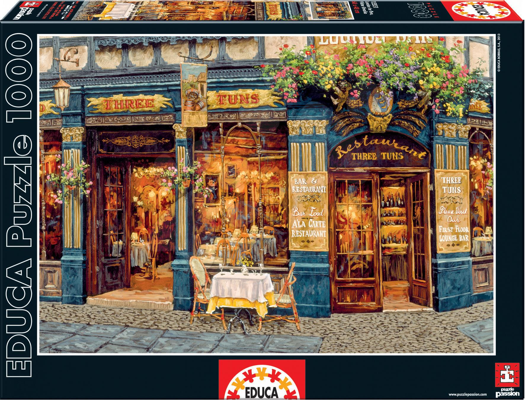 Puzzle 1000 dielne - Puzzle London For Two, Viktor Shvaiko Educa 1000 dielov od 12 rokov