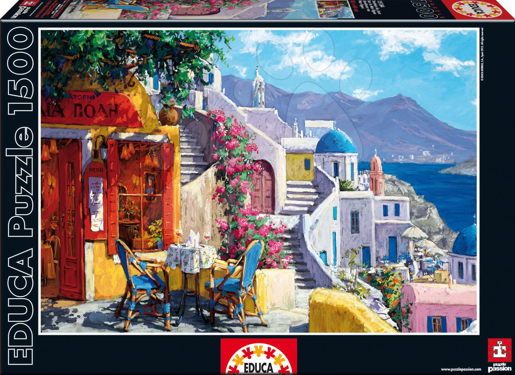 Puzzle Aegean Sea Evening, Viktor Shvaiko Educa 1 500 dílů