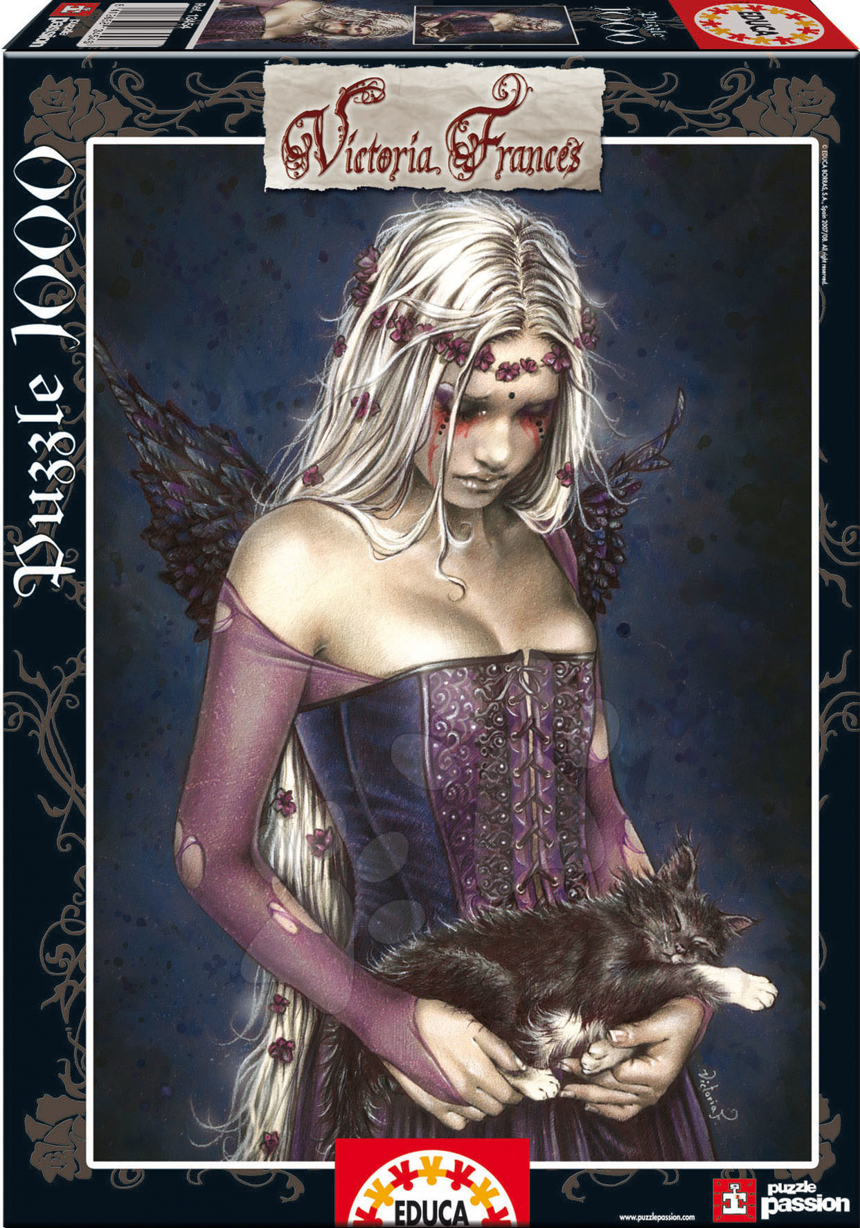 Produse vechi - Puzzle Angel of death Educa 1000 piese