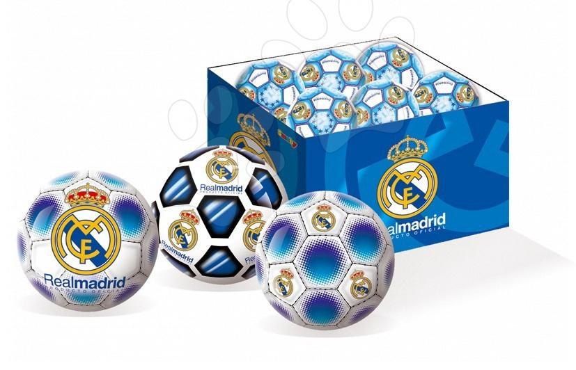 Sportovní míče - Pryžový míč Real Madrid Unice 15 cm